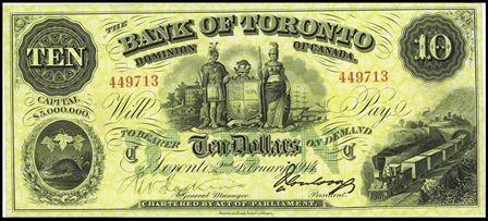 bank of toronto 10