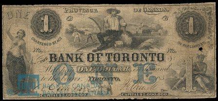 bank of toronto 1856 1