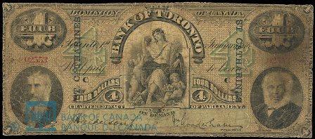 bank of toronto 1876 4