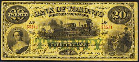 bank of toronto 20