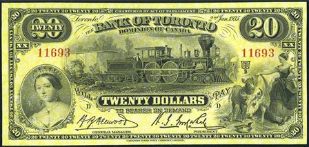 bank of toronto small 20