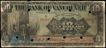 bank of vancouver 10