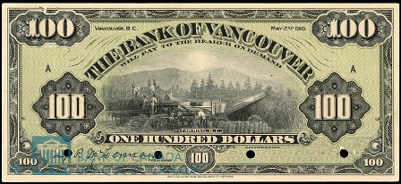 bank of vancouver 100