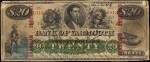 Value of Old Banknotes from The Bank of Yarmouth in Nova Scotia, Canada
