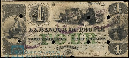 banque peuple 1854