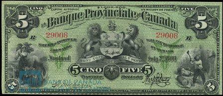 banque provinciale 1900