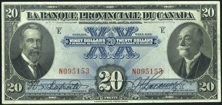banque provinciale 1928 20