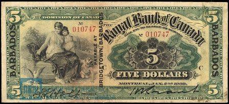 barbados 1909 5