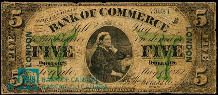 canadian bank 1867 5