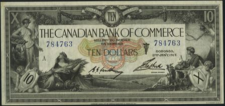 canadian bank 1917 10