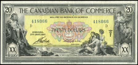 canadian bank 1917 20