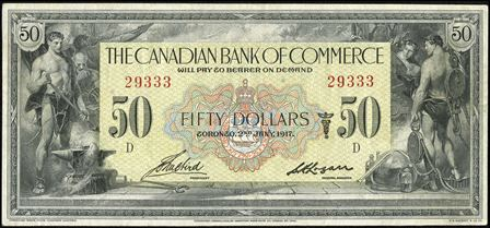 canadian bank 1917 50