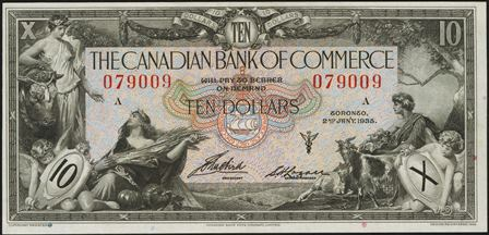 canadian bank 1935 10