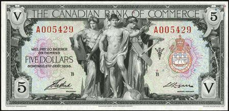 canadian bank 1935 5