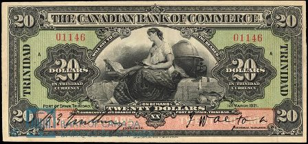 canadian bank port of spain 1921 20