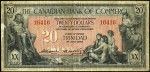 Value of Old Banknotes from The Canadian Bank of Commerce in Toronto, Canada