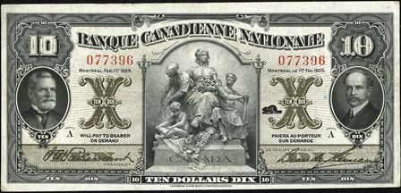 canadienne nationale 1925 10