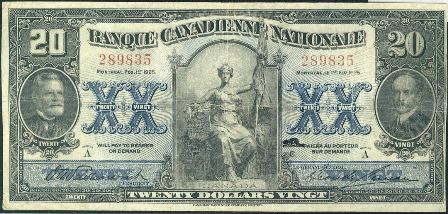 canadienne nationale 1925 20