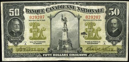 canadienne nationale 1925 50