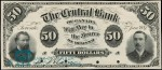 Value of Old Banknotes from The Central Bank of Canada in Toronto