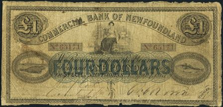 commercial NF early bank note