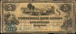 Value of Old Banknotes from The Commercial Bank of Canada in Kingston