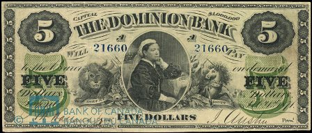 dominion bank 1871 5