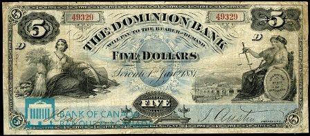 dominion bank 1881 5