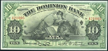 dominion bank 1900s 10