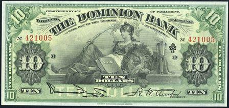 dominion bank 1900s 10