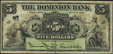 dominion bank 1900s 5