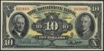 Value of Old Banknotes from The Dominion Bank of Toronto, Canada