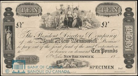 early bank note Bank NB
