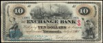 Value of Old Banknotes from The Exchange Bank of Yarmouth, Canada