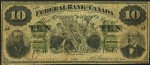 Value of Old Banknotes from The Federal Bank of Canada in Toronto