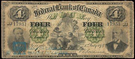 federal bank 1874 4