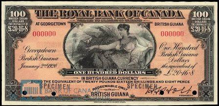 guiana 1920 100