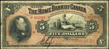 home bank of canada 5