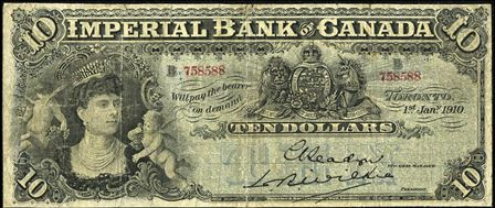 imperial bank 1910 10