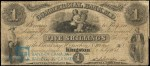 Value of Old Banknotes from The Commercial Bank of the Midland District in Kingston, Canada