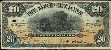 northern bank 1905 20
