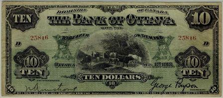 ottawa 1913 10 bill