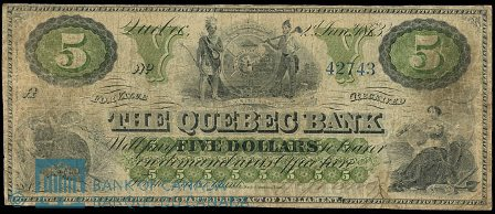 quebec 1873 5 green