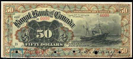 royal canada 1901 50