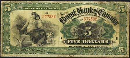 royal canada 1909 5