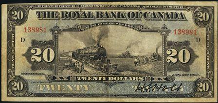 royal canada 1913 20