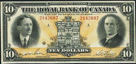 royal canada 1927 10