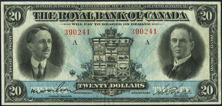 royal canada 1927 20