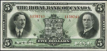 royal canada 1927 5