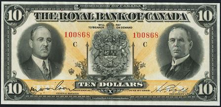 royal canada 1933 10
